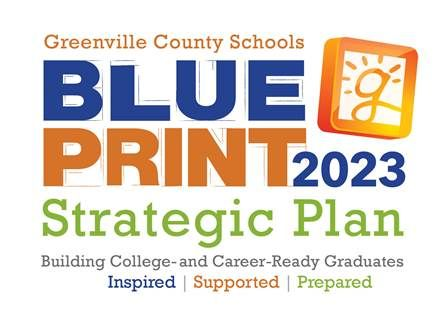Greenville County Blue Print 2023 Strategic Plan - Building College- and Career-Ready Graduates. Inspired | Supported | Prepared