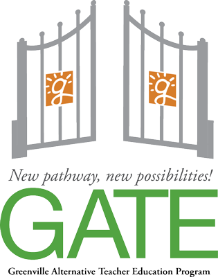 Greenville Alternative Teacher Education (GATE) Program Logo