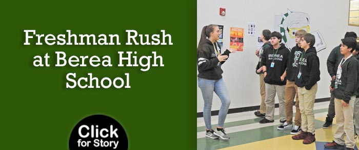 Freshman Rush at Berea High School