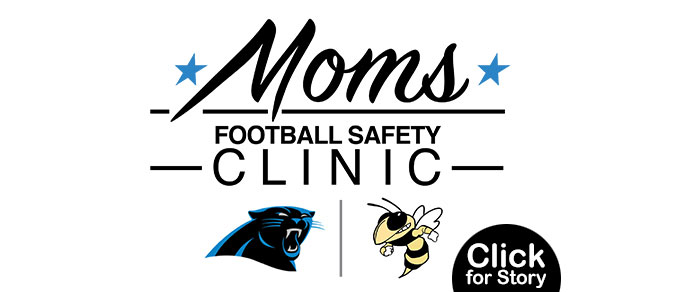 Greer High to Host Carolina Panthers Football Clinic for Moms