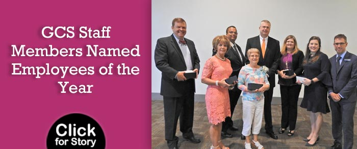 GCS Staff Members Named Employees of the Year