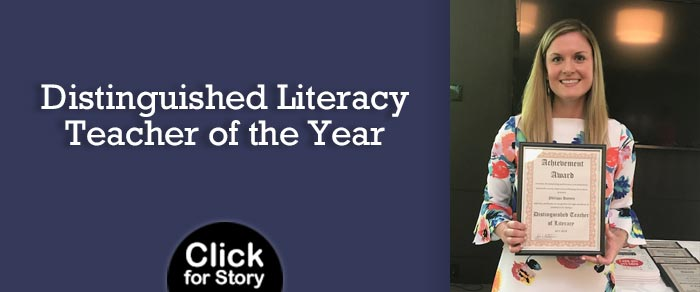 Distinguished Literacy Teacher of the Year