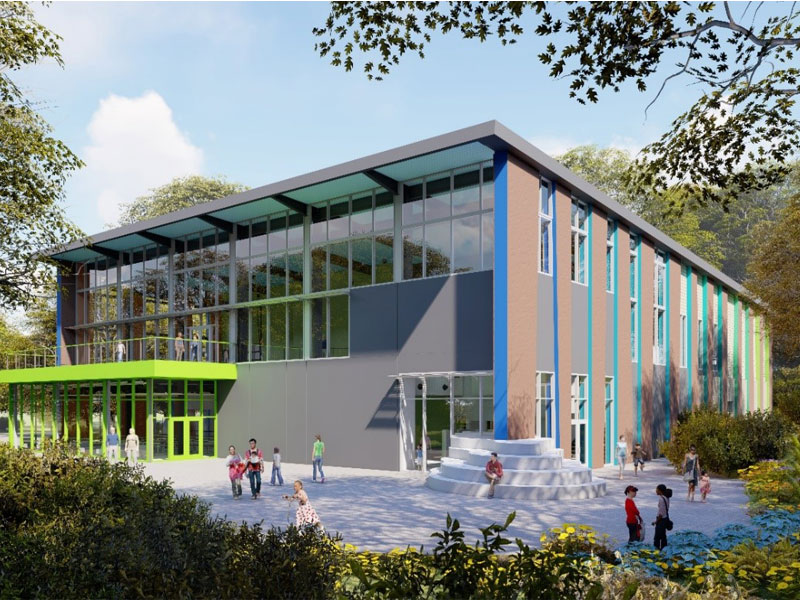 Roper Mountain Science Center Rendering