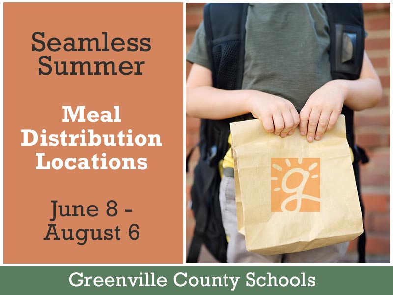 Seamless summer Meal distribution locations