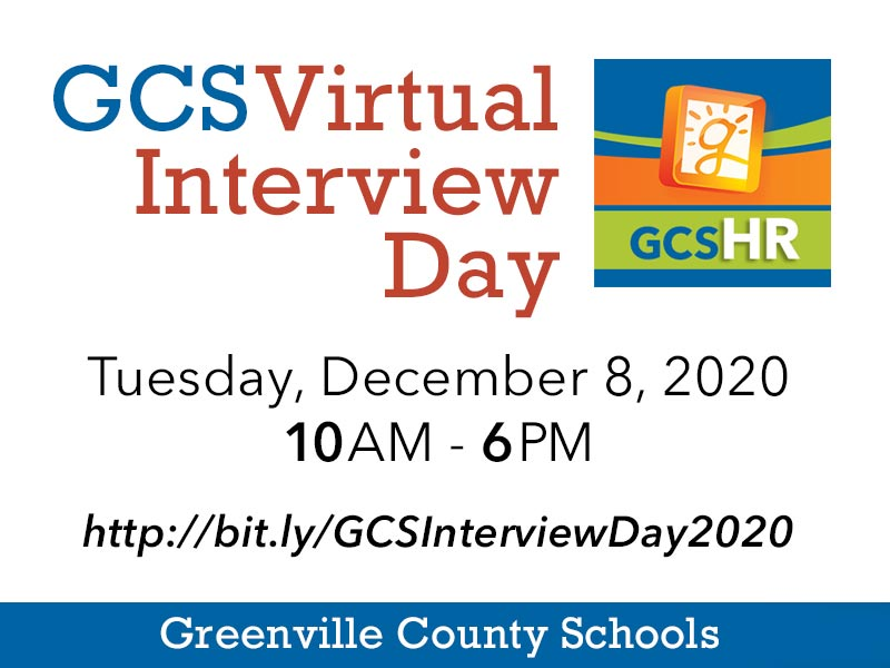 GCS to host Virtual Interview Day