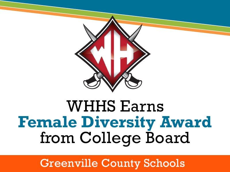 WHHS Earns Female Diversity Award from College Board
