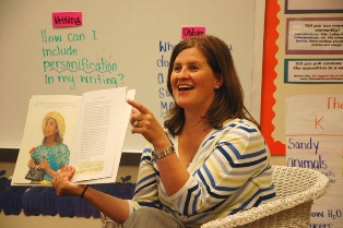 Taunja Pool, Summit Drive Elementary teacher, was selected as a finalist for South Carolina Teacher of the Year