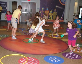 Greenville organizations work together to make learning about children's health fun.
