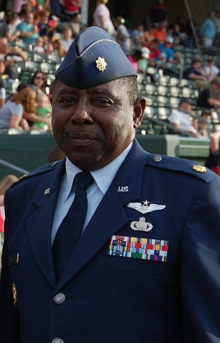 Major Joseph Windley, Air Force Junior ROTC instructor at Southside High Academy