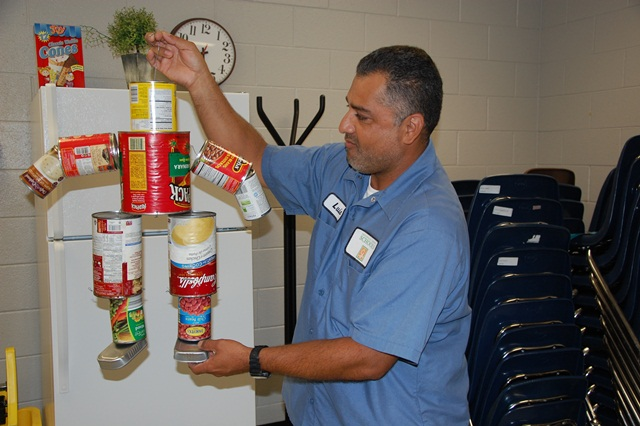 Luis Munoz, Robert E. Cashion Head Custodian, Named Environmental Educator of the Year