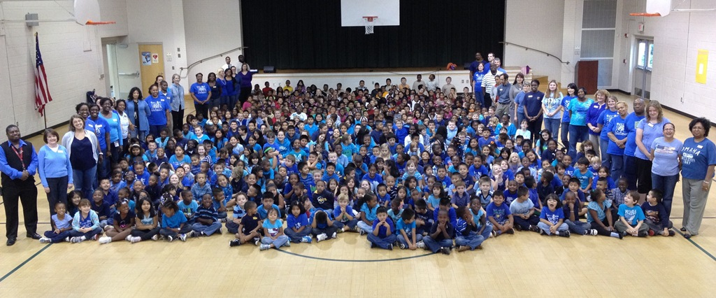 Cherrydale Elementary Stomps Out Bullying