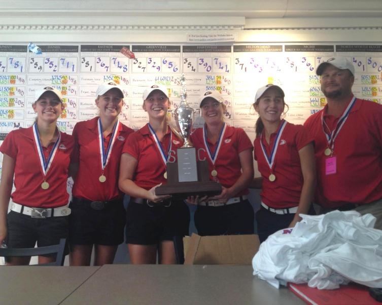 Greenville High Academy Girls Golf State Champions!