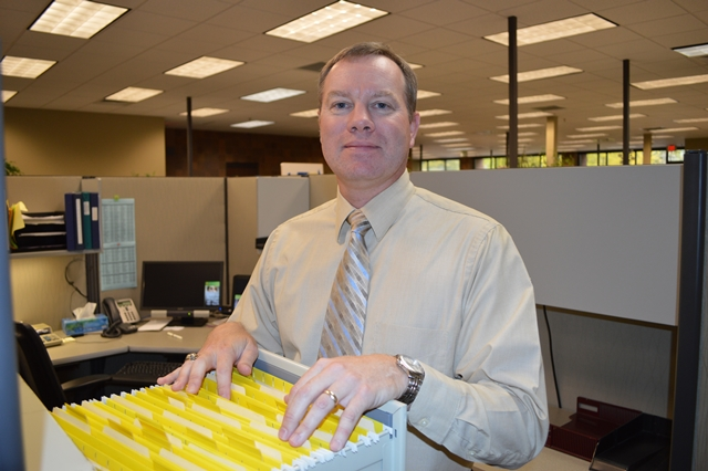 Doug Chappell has served as a pupil activity accountant in the finance department for 11 years.