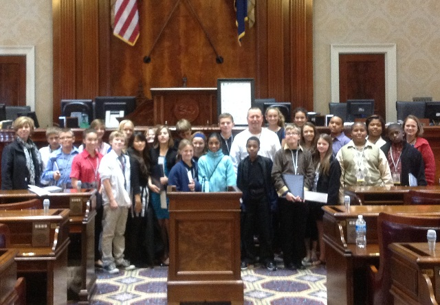 Beck Academy Youth in Government Wins Outstanding Delegation Award