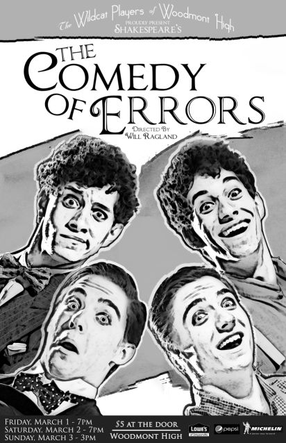 Woodmont High Presents The Comedy of Errors