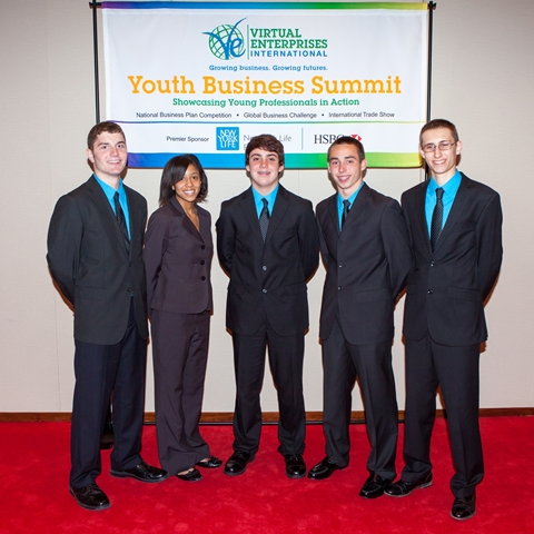 Greer High Virtual Enterprise Students Shine in National Competition