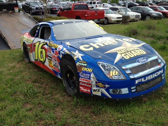 The car when it arrived at Enoree Career Center