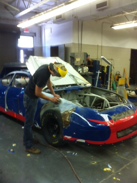Used Cars Greenville Sc >> Enoree CC Students Restore NASCAR Race Car