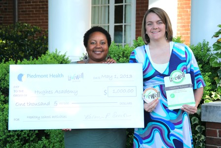 Hughes Middle Academy receives Livewell Award