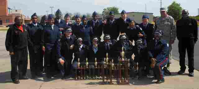 Southside High JROTC Wins Drill Competition