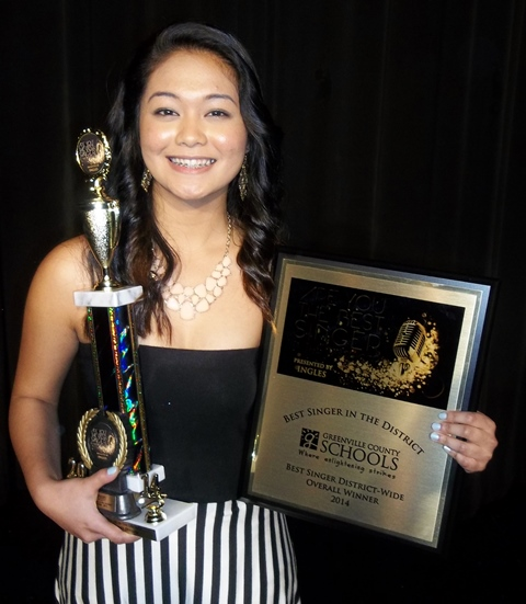 Shane Li captures the title of Best Singer in the District.