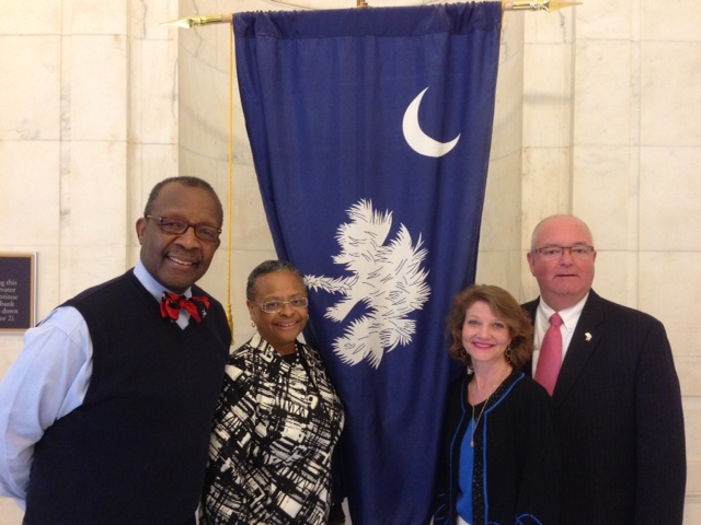 School Board members Kenneth Baxter, Glenda Morrison-Fair, Joy Grayson, and Chairman Chuck Saylors urged members of Congress to accelerate investments in public education that support local efforts to continue to raise student achievement.