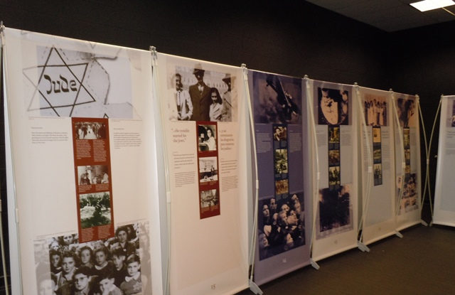 Anne Frank Exhibit on Display at Riverside Middle School