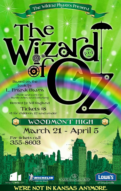 Woodmont High presents The Wizard of Oz