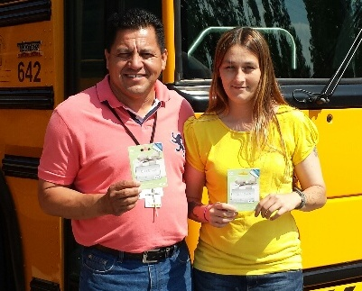 Bus Drivers Receive Recruitment Incentive