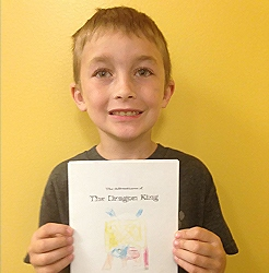 First Grade Author!