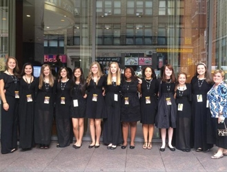 Bryson Middle School Chorus Performs at Carnegie Hall