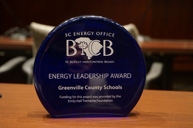 "District Presented with ""Lead by Example"" Energy Leadership Award"