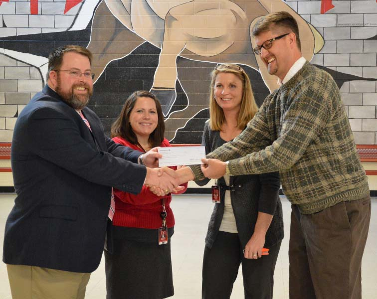 Bosch Rexroth Fountain Inn Plant Funds School, District Grants
