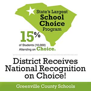 Greenville County Schools Earns Top Ten National Ranking for School Choice