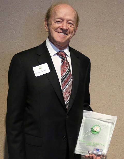 Jerry Barber, a well-known Greenville inventor and entrepreneur, embodies the criteria for the 2015 Spirit of Einstein Individual Award.