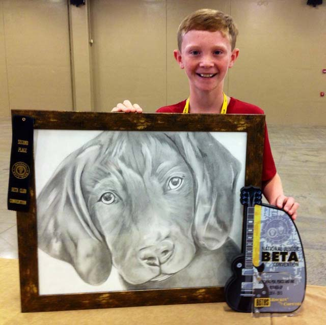 Fountain Inn Student, Collin Stevens, Wins National Competition