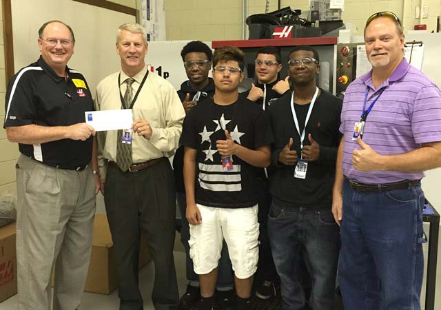Donation Helps New Career Center Program