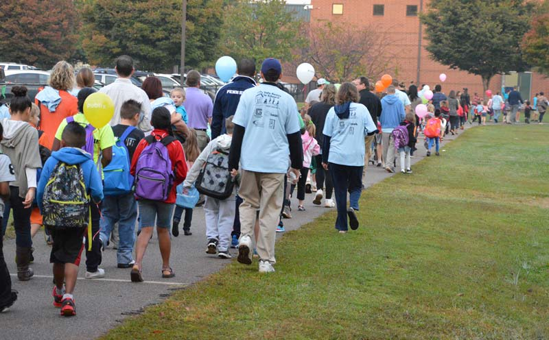 Walk to School Day Wednesday, October 7