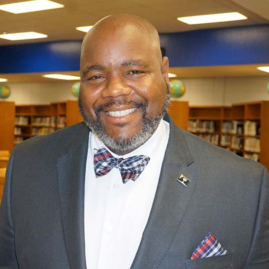 Gregg Scott, principal of Woodmont Middle School