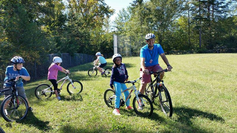 Westcliffe Students Learn Bike Safety