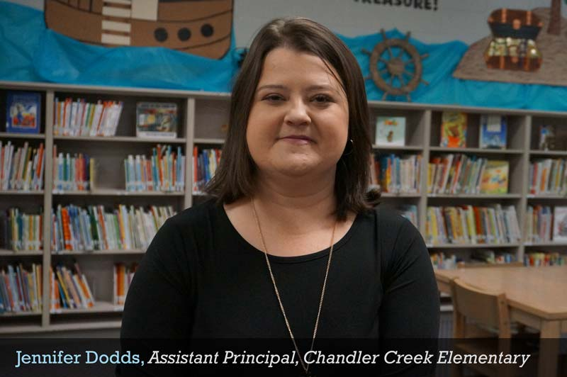 Jennifer Dodds, Assistant Principal, Chandler Creek Elementary
