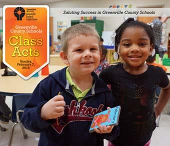 Class Acts - Saluting Success in Greenville County Schools