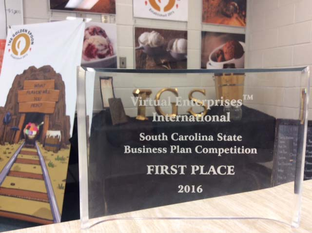 photo of 1st place plaque