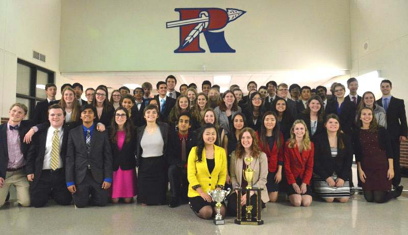 Riverside Speech and Debate Claims 5th State Title