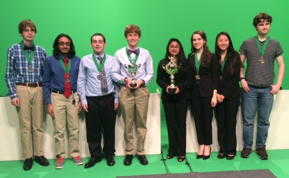 Riverside High and Southside High Academic teams