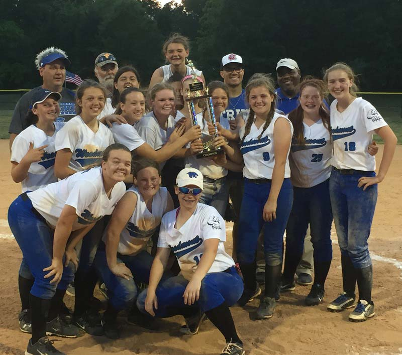 Woodmont Middle Wildcats Softball