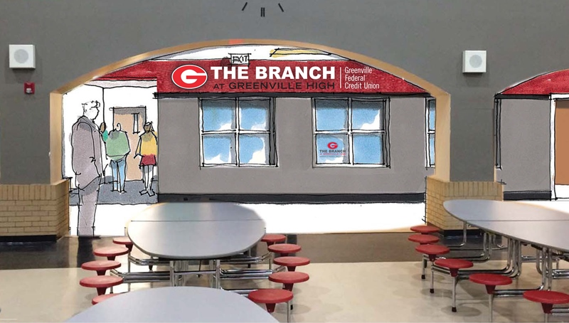 Student Run Credit Union To Open At Greenville High