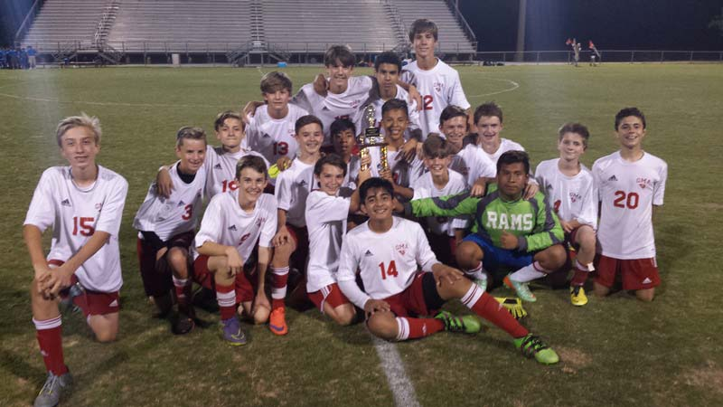 Greenville Middle Academy Rams Boys Soccer