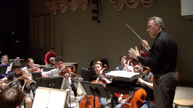 """The Youth Orchestra has been one of the defining assignments in my professional life,"" said Robinson."