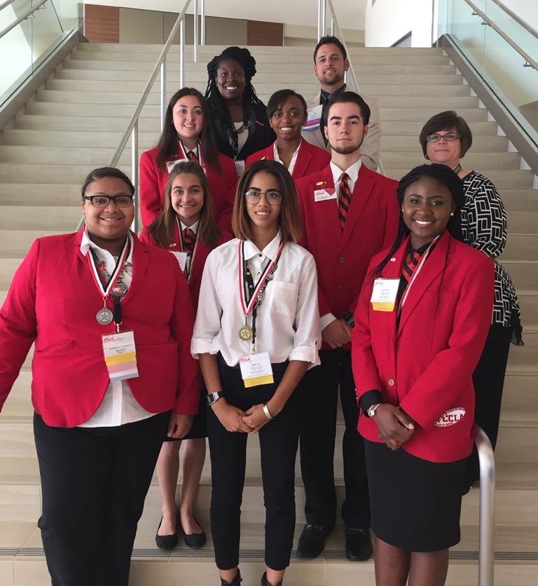 Students from Hillcrest High, Wade Hampton High, and Golden Strip Career Center took home national honors at the 2016 Family Career and Community Leaders of America (FCCLA) National Leadership Conference in San Diego last week.